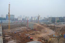 卓昱大厦施工现场(2011.09.07)