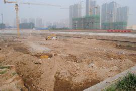 圣水湖畔3#楼施工现场(2011.09.09)