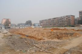 百家新城先锋苑施工现场(2011.9.27)