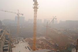 卓昱大厦施工现场(2011.10.21)
