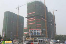 卓昱大厦工程进度(2012.7.17)
