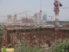 汉成华都工程进度(2012.07.25)