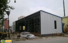 宝利大厦售楼处正在建设(2012.08.13)