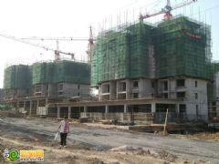锦绣江南17# 18#工程进度(2012.08.23)