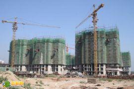 锦绣江南12# 13#工程进度(2012.08.29)