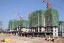 锦绣江南17# 18#工程进度(2012.08.29)