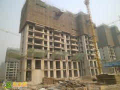御景江山城3号楼出地面13层(2012.11.3)
