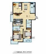 A-1户型 三室二厅二卫