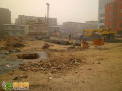 龙鼎国际项目工程实景图(2013.1.10)
