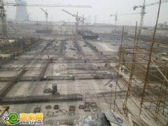枫景华庭工地实景(2013.05.08)