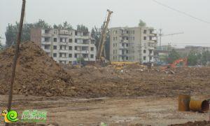 龙仕公园里工程进度(2013.5.28)