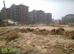 名仕公馆项目工程实景(2013.7.8)