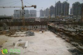 枫景华庭工地实景(2013.07.08)