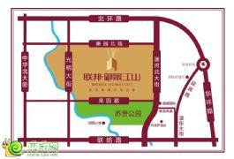 联邦·御景江山项目区位图