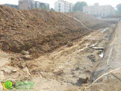 世纪一品项目已开始挖槽(2013.8.7)