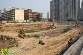 财智天地工地实景(2013.8.17)