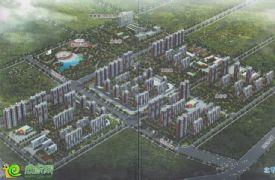 旺峰嘉苑项目鸟瞰图