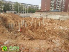 名仕公馆项目工程实景(2013.9.12)