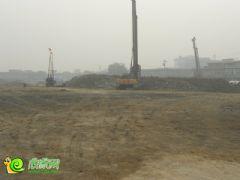 阳光新卓广场工地实景(2013.10.19)