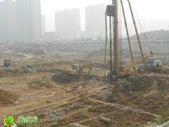 联邦·御景江山二期正在打桩(2013.10.25)