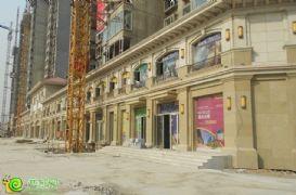 联邦·御景江山沿街商铺实景(2013.11.5)