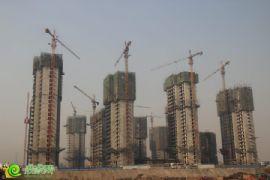 枫景华庭工地实景(2013.11.12)