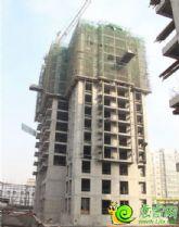 盛锦花园8#楼实景图(2014.01.04)