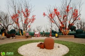 紫岸园林实景图(2014.2.12)
