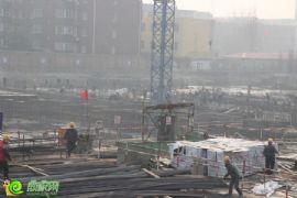 名仕公馆项目工程实景(2014.2.19)