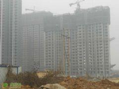 锦绣江南22#、23#楼工地实景(2013.12.18)