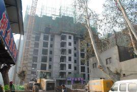 新城国际2#楼工程进度实景图(2014.01.06)