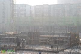 新城国际3#楼工程进度实景图(2014.01.06)