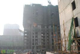 新城国际1#楼工程进度实景图(2014.01.06)