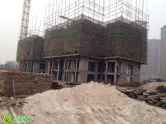 阿尔卡迪亚阳光苑3#楼工程进度(2014.01.08)