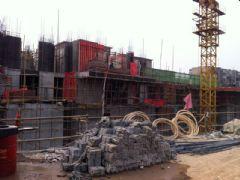 卓昱大厦工程进度(2012.2.24)