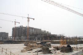金世纪花园施工现场(2012.02.29)