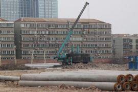 龙湖公馆施工现场(2012.03.03)