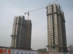 圣水湖畔1#2#楼工程进度(2012.4.15)