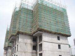 圣水湖畔4#楼工程进度(2012.4.15)