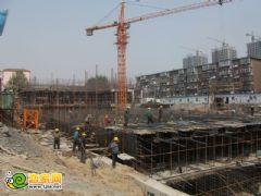 百家新城先锋苑施工现场(2012.5.6)
