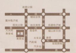 卓冠美景城区位图