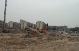 站南旺角正在挖槽(2013.05.17)