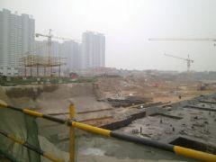 赵都新城陶然居工程进度(2013.05.25)