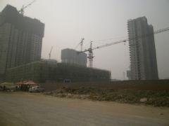 圣水湖畔施工进展(2012.10.08)