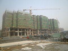 汉成华都工程进度(2012.10.25)
