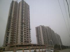 华信山水文苑二期施工现场(2013.02.25)