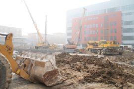 龙鼎国际项目工程实景图(2013.2.27)
