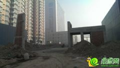 圣水湖畔实景图(2013.12.5)