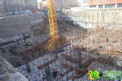 龙鼎国际项目工程实景图(2014.1.1)