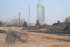 龙鼎国际项目工程实景图(2014.02.19)